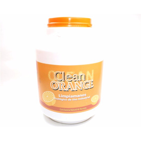Limpiamanos Ecológico De Uso Industrial Clean Orange Locx