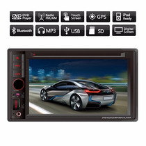 Kit Central Multimídia Dvd Cd Mp3 Mp4 Gps Tv Bluetooth