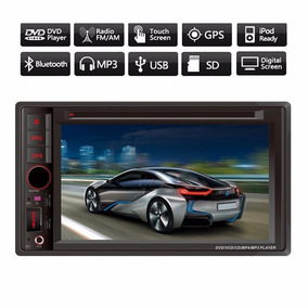 Kit Central Multimídia Dvd Cd Mp3 Mp4 Gps Tv Bluetooth