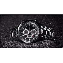 Relógio Masculino Curren Pulseira De Aço Water Resistant