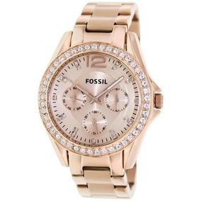 1a64c31c0b6 Relógio Fossil Es3040 Novo Feminino Original Eua - Relógios De Pulso ...