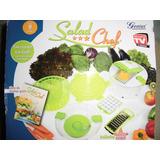 Salad Chef Original Centrifuga Pica Ralla Vegetales Recetas