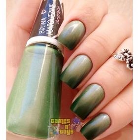 Esmalte Ludurana Bruna Marquezine Degradê Verde Black