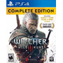 The Witcher 3 Complet Edition Ps4. Físico. Todos Los Dlc