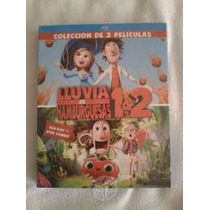 Blu Ray Lluvia De Hamburguesas 1 Y 2 Cloudy With A Chance Of