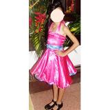 Disfraz Chica De Los Años 60. De 6 A 7 Años