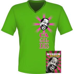 Kit Mussum: 4 Livros Biografia Mussum Forévis + 4 Camisasl!!