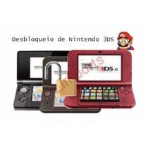 Desbloqueio Old/new 3ds E 2ds- Jogue Online! + 3 Brindes!!