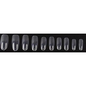 Tips Oval Transparente 100pcs Unhas Gel Uv Acrilico