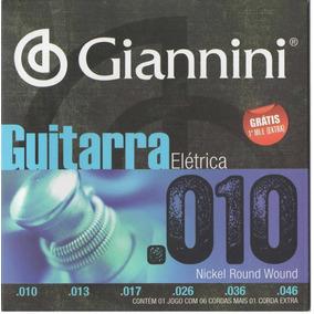 Encordoamento Cordas Guitarra Giannini 010 Geegst10