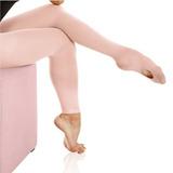 Meia Calça Com Pé Conversivel Infantil Ts40 - Só Dança