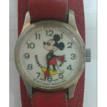 Hermoso Reloj De Niño Mickey Mouse Disney