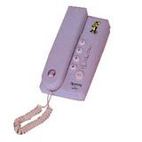 Aparelho De Telefone Com Fio Compacto Para Mesa E Parede