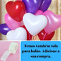 Balão Coração Bexiga Amor Love Festa Namorad 50 Unidades
