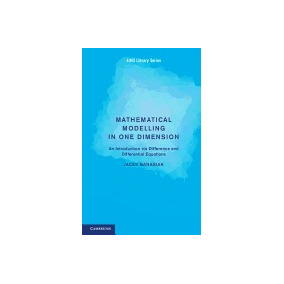 Libro Mathematical Modelling In One Dimension: An, Jacek Ban