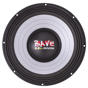 Bravox Rave 15 Polegadas Woofer 1100wrms 4ohms Trio Som Sub