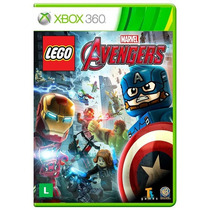Lego Marvel Vingadores Avengers Xbox 360 Lacrado + Brinde