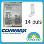 Kit Portero Eléctrico Commax 14 Departamentos Embutir