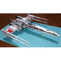 X-wing De Starwars (para Armar En Papel)