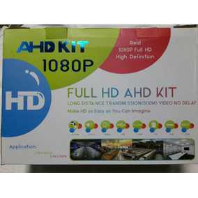 Kit Ahd 4 Camaras Mas Disco Duro 1gb