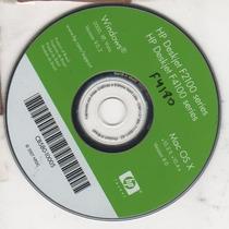 Cd De Instalação Para Impressora Hpdeskjet F4180-f2100-f4100