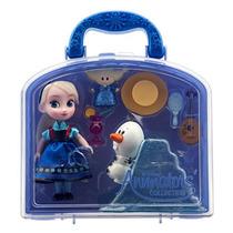 Set Muñecas Frozen Anna Elsa Animators Mini Disney Store