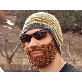 Gorro Con Barba Excelente Para El Frio Disfraz Moda 2017