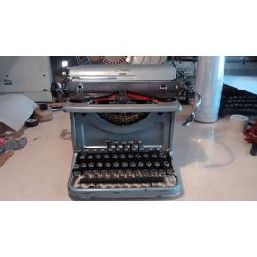 Maquina De Escribir Antigua Lc Smith 1934