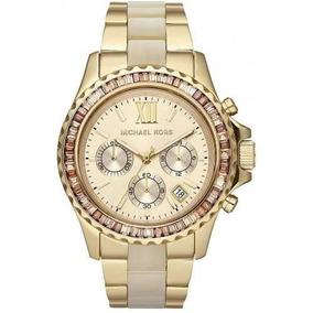 Relógio Michael Kors Mk5874 Everest Madreperola Completo