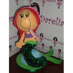 Boneca Ariel Em Eva 3d 23 Cm - Princesas Disney
