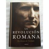 La Revolución Romana Ronald Syme Editorial Crítica