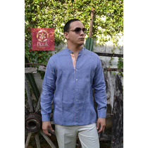 Filipina Yucateca (guayabera Cuello Mao)