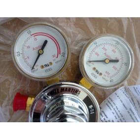 Regulador De Gás Acetileno R51 White Martins