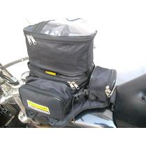 Bolso Tanque Moto Ridercraft Cordura Penta Pack 12 Litros