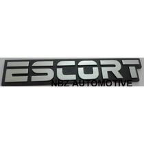 Kit De Emblemas Cromados Escort + 1.6 + Gl - Nbz