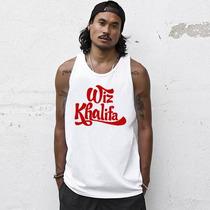 Camiseta Regata Wiz Khalifa - A Melhor Do Mercado!