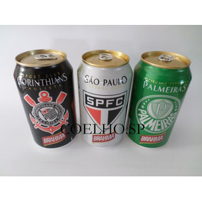 Latas Cerveja Brahma Times Ano 2013 - Cheias - 350 Ml.