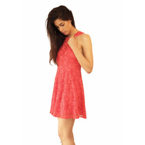 Vestido Isa De Encaje Escote Corazon Muje, Brishka M-0078