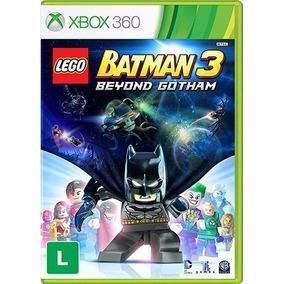 Lego Batman 3 Beyond Gotham Xbox 360 Em Português Original
