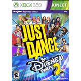 Kinect Just Dance Disney Party 2 Nuevo Sellado Xbox 360