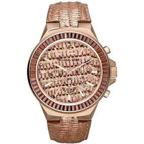 Envio Gratis Reloj Michael Kors Mk2305 Rosa Cristal Mujer