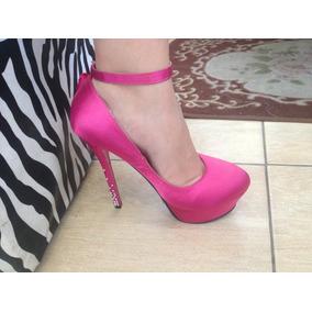 Scarpin Rosa Pink Importado Á Pronta Entrega 33 E 34