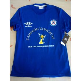 Playera Cruz Azul Campeón Concacaf 2013 2014