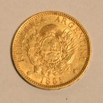 Moneda Argentino De Oro 1885