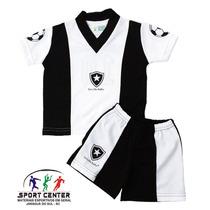 Conjunto Para Bebe Botafogo Camisa+ Shorts- Torcida Baby- Nf