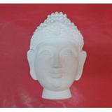 Máscara Buda En Yeso De 15 X 22 Cm. Para Pintar !!