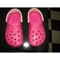 Crocs Dora Rosa Importada Original Número 33