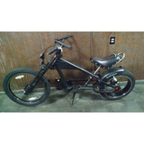 Bicicleta Chopper Schwinn Stingray Preta* Acompanha Motor*