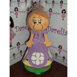 Boneca Princesa Sofia Em Eva 3d 23 Cm
