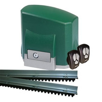 Kit Motor Portão Automático Eletronico Deslizante Seg 1/4hp